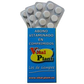 Fertilizante Vitaminado en Comprimidos.