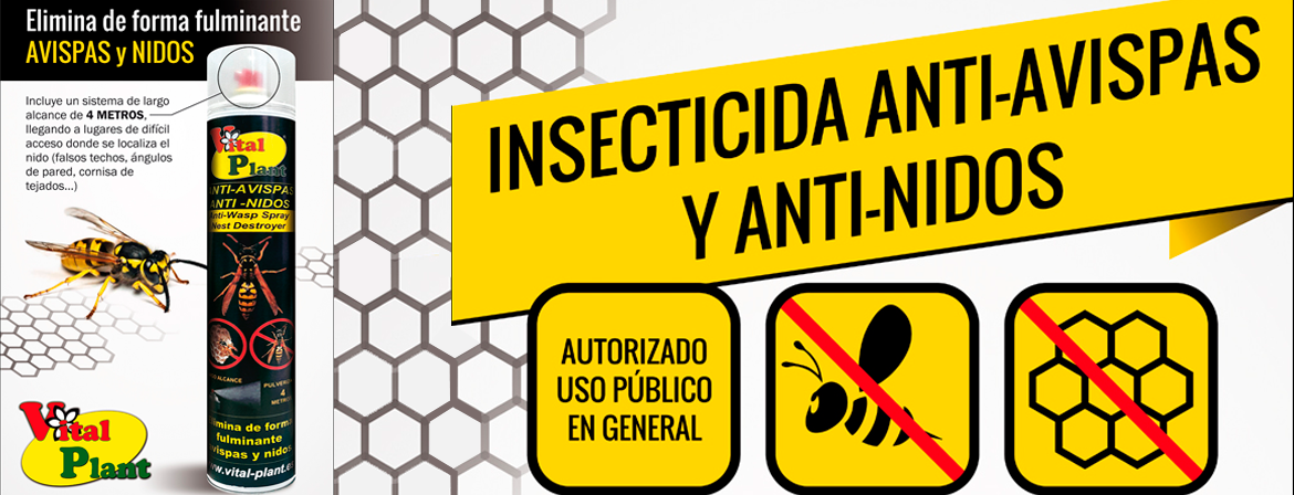 ANTI AVISPAS Y ANTI NIDOS