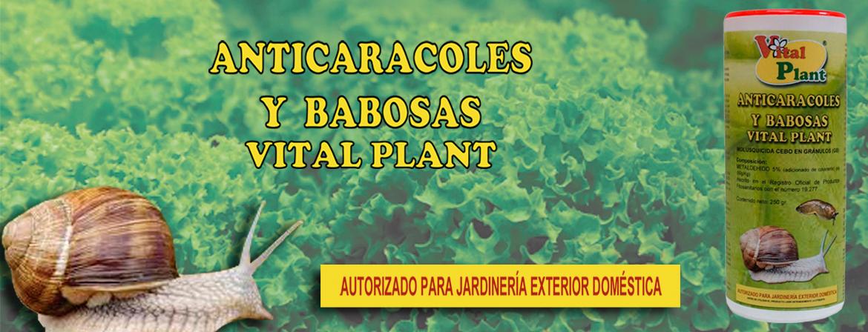 ANTI CARACOLES Y BABOSAS VITAL PLANT